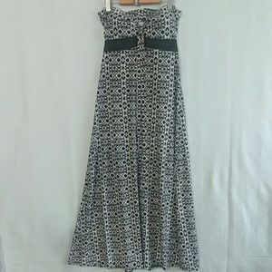 Guilty Strapless Maxi Dress